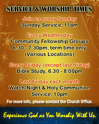 Services & Worship Times